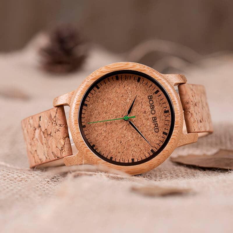 wooden bamboo wrist watch for men M11 8
