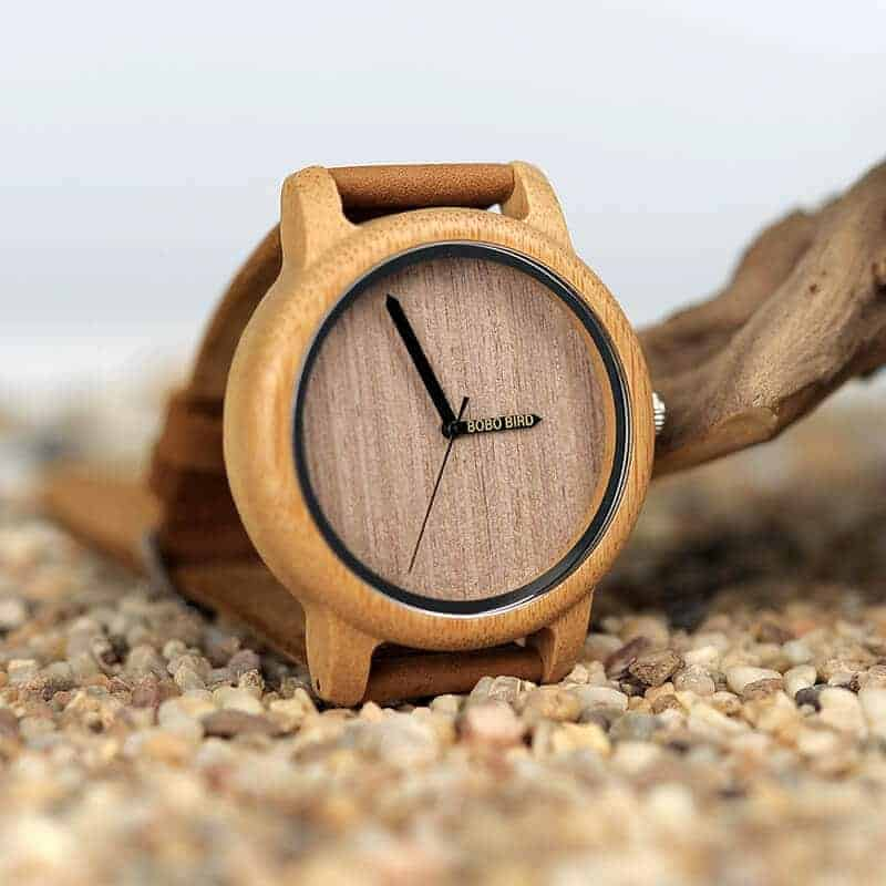 wooden watches for men and women bobo bird gifts 12