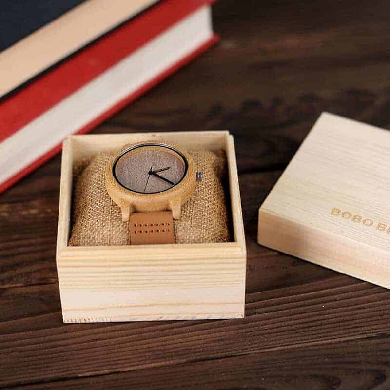 wooden watches for men and women bobo bird gifts 8