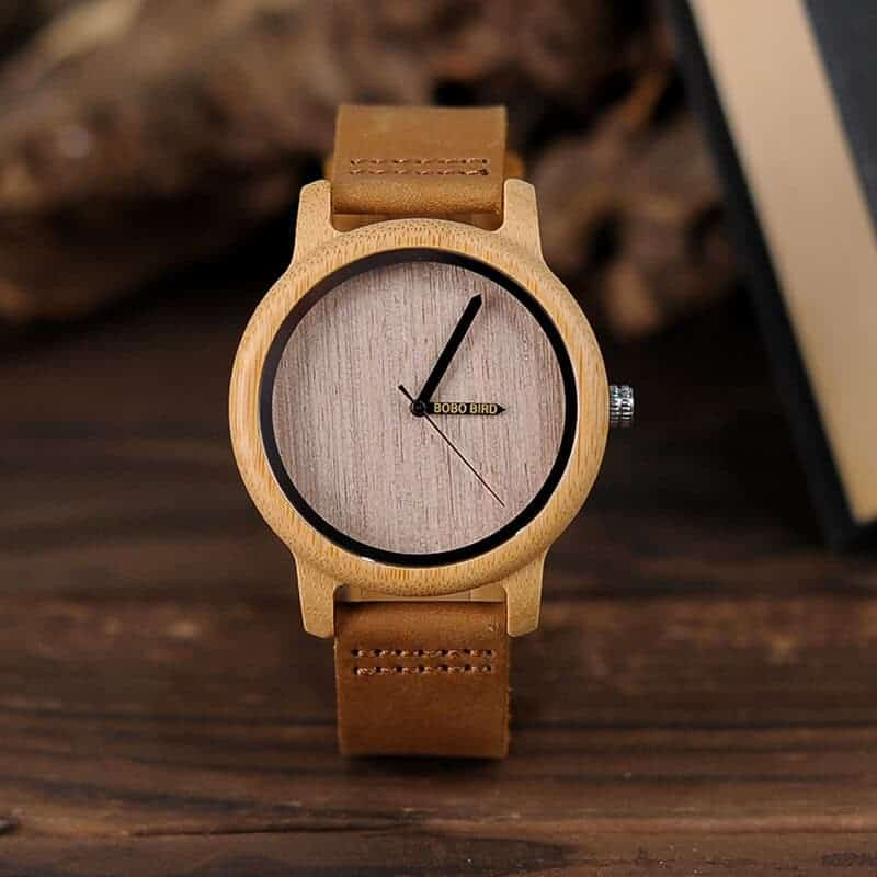 wooden watches for men and women bobo bird gifts 9