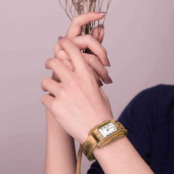 bobo bird wooden watches for women GT020 2