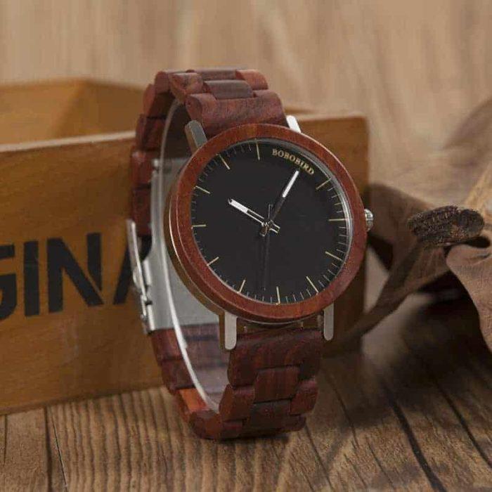 wooden watches m16 8
