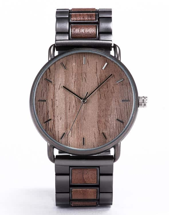 Wooden Watches For Men Unique Personalized GiftsFor Him - Walnut T23-2
