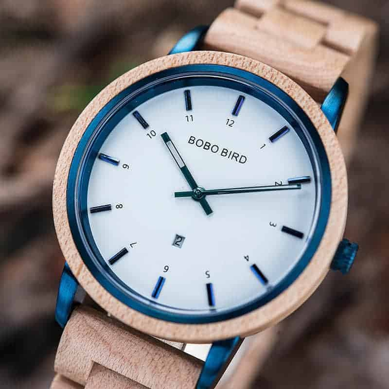 wooden watches for men ANTON - Maple