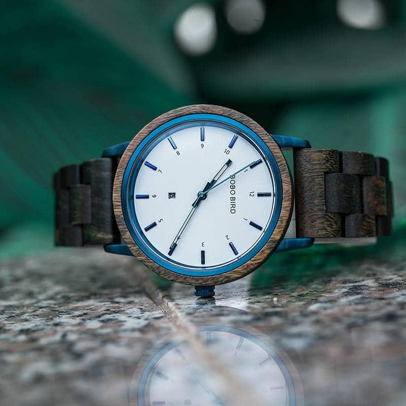 wooden watches for men ANTON - Sandalwood