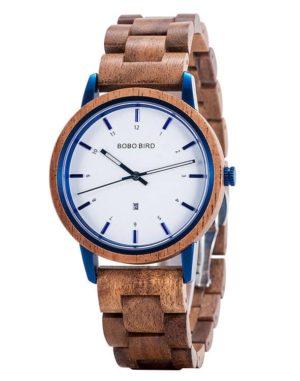 bobo bird wooden watches for men ANTON Walnut T22-1