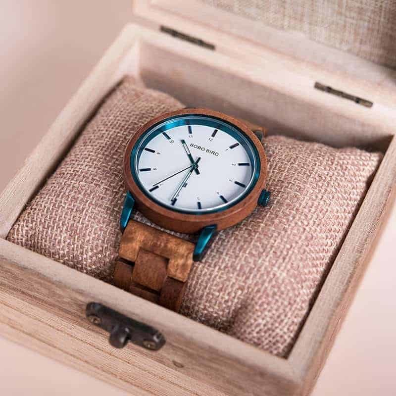 bobo bird wooden watches for men ANTON Walnut T022 1 9