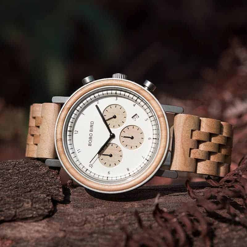 bobo bird wooden watches for men The Night Sky collection - Neutron Star T27-3