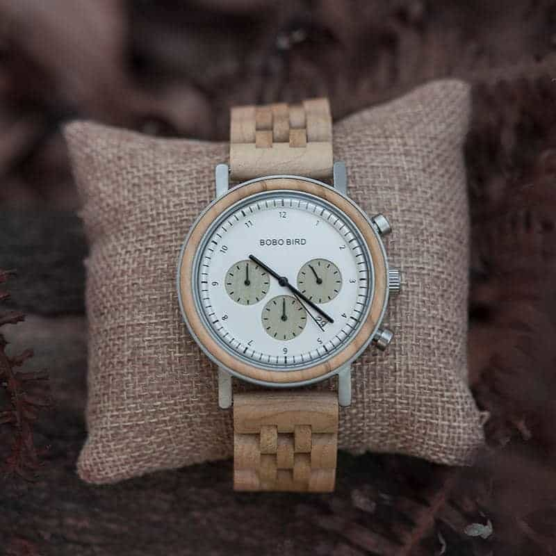 wooden watches for men T27 3 12 BOBO BIRD