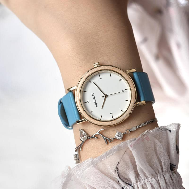 wooden watches for women T21 3 6