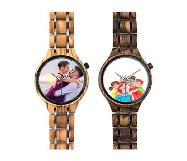 Personalized Photo Watches - Acacia Black PP01