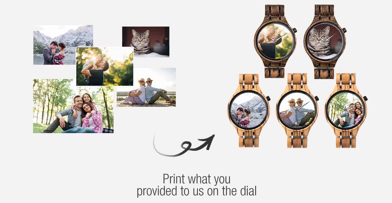 bobo bird personalized photo watches