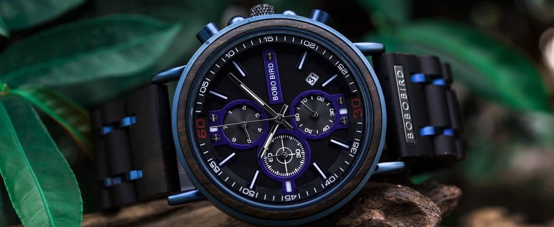 bobo bird wooden watches for men Camilo Series