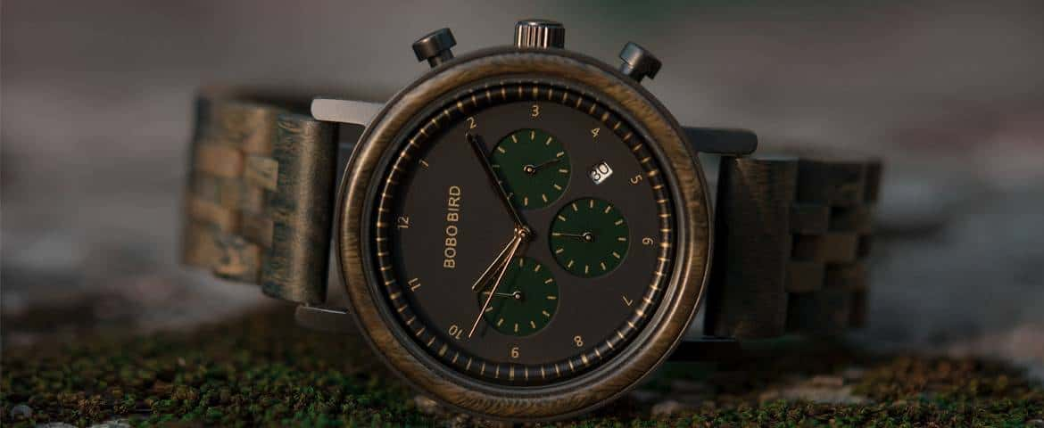 wooden watches for men Night Sky Collection