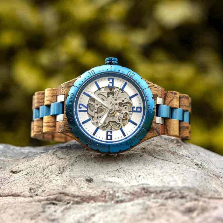 Automatic Mechanical Movement Wooden Watches Q29-3