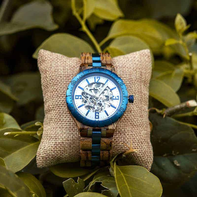 Automatic Mechanical Movement Wooden Watches Q29-3-10
