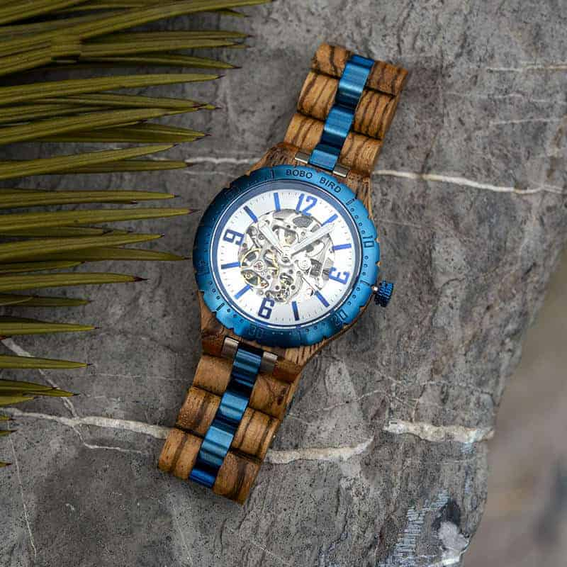 Automatic Mechanical Movement Wooden Watches Q29 3 5 BOBO BIRD