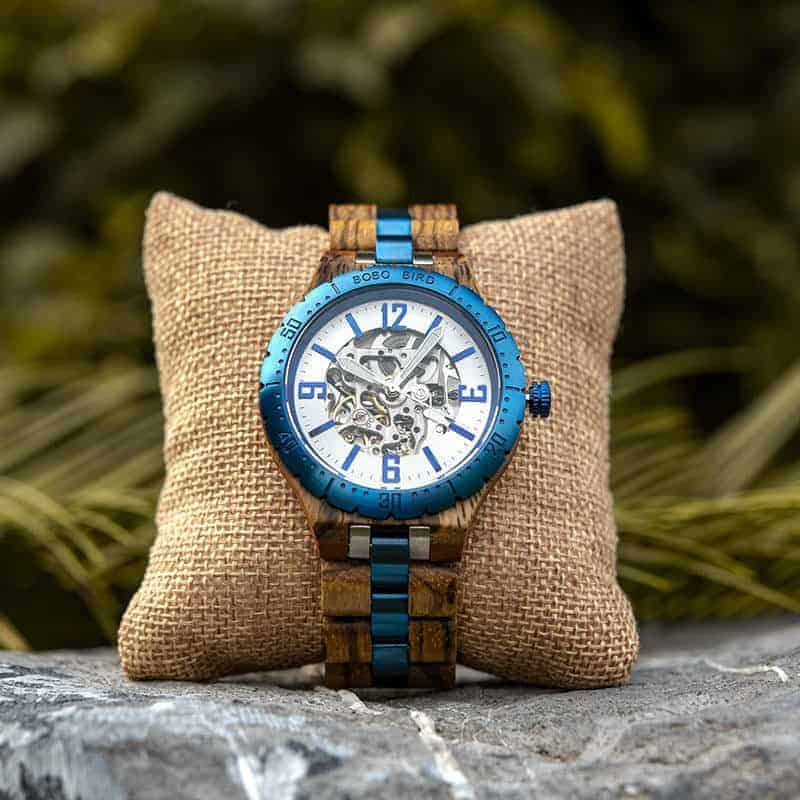 Automatic Mechanical Movement Wooden Watches Q29 3 6 BOBO BIRD