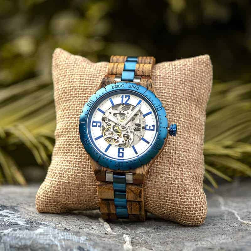 Automatic Mechanical Movement Wooden Watches Q29-3-7