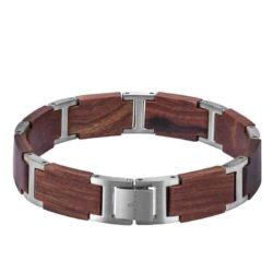 Handmade Natural Ebony Wooden Bracelets - Jazz GT039-3B