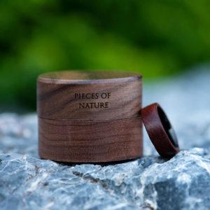 Rosewood Wood Ring Wood Band Climbing Ring Traveler Gift Anniversary Gift GSP09-01M