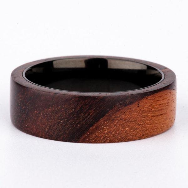 Anniversary Wooden Ring Custom Wooden Ring Mens wooden rings for men GSP09-01K-2
