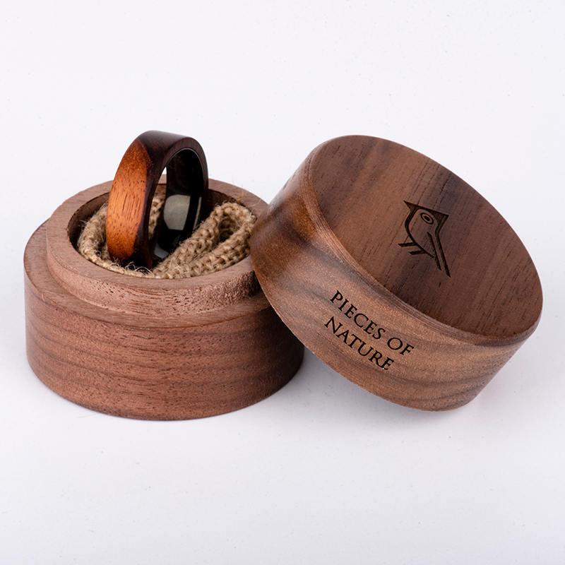Anniversary Wooden Ring Custom Wooden Ring Mens wooden rings for men GSP09-01K-4