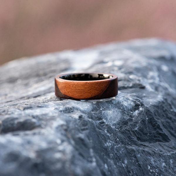 Anniversary Wooden Ring Custom Wooden Ring Mens wooden rings for men GSP09-01K