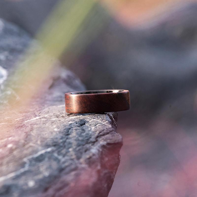 Anniversary Wooden Ring Custom Wooden Ring Mens wooden rings for men GSP09-01K-9