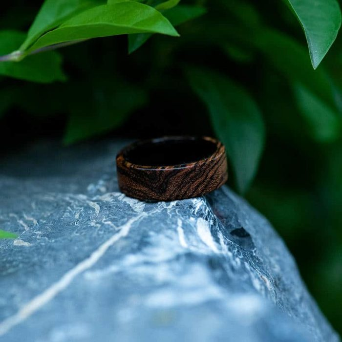 Solid Wooden band Custom wedding ring Wedding band GSP09 01J 16