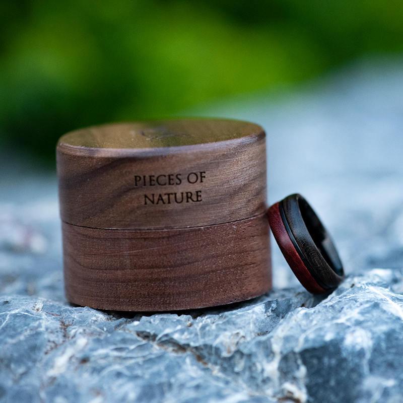 Wood Ring, 5 Year Anniversary Wooden Ring, Custom Wooden Ring Men Wood Ring Men Ring Mens Jewelry Mens wooden ring Wood rings for men GSP11-01K-13