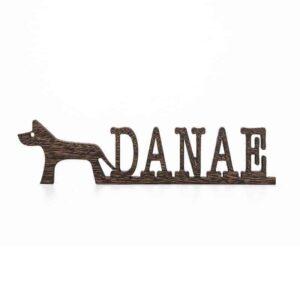 Dog Name Sign Pet Name Sign Dog Mom Gift Pet Lover Gift Custom Dog Sign Dog Wall Art Dog Decor Wooden Wall Art Pet Wood Sign Dog Room Decor DOG010