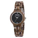 Wooden watches for women Walnut Sky