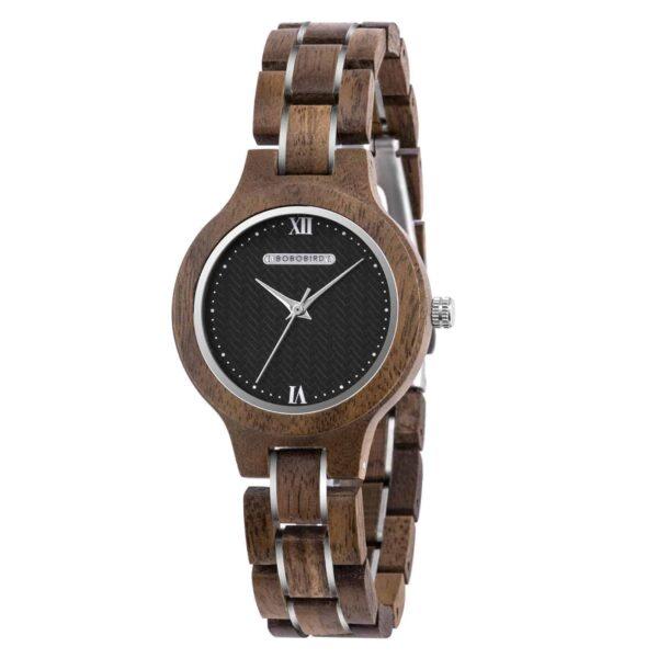 Wooden watches for women Walnut Sky