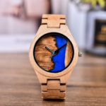 Naturally Unique Wood Resin Watch