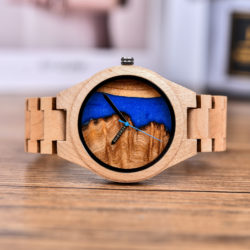 Naturally Unique Wood Resin Watch - Alok