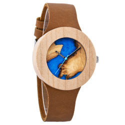 Naturally Unique Wood Resin Watch - Fionan