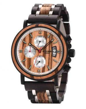 BOBO BIRD Men's Wood Watch Verawood & Handmade S18-3